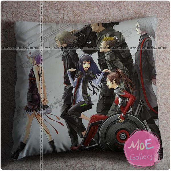 Guilty Crown Inori Yuzuriha Throw Pillow Style C
