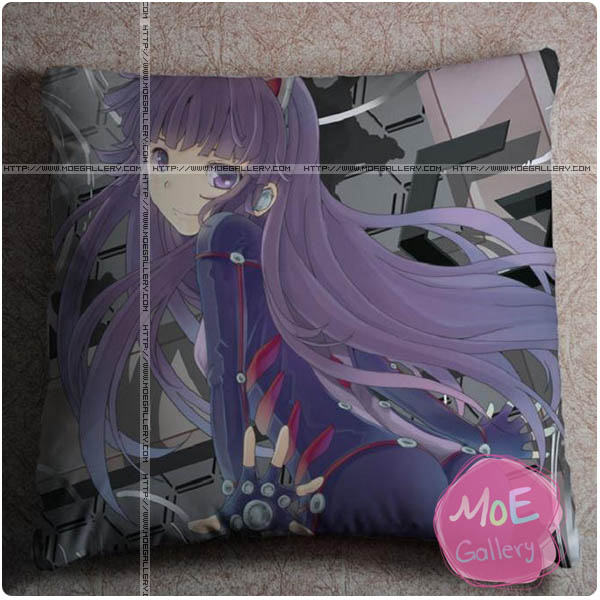 Guilty Crown Tsugumi Throw Pillow Style A
