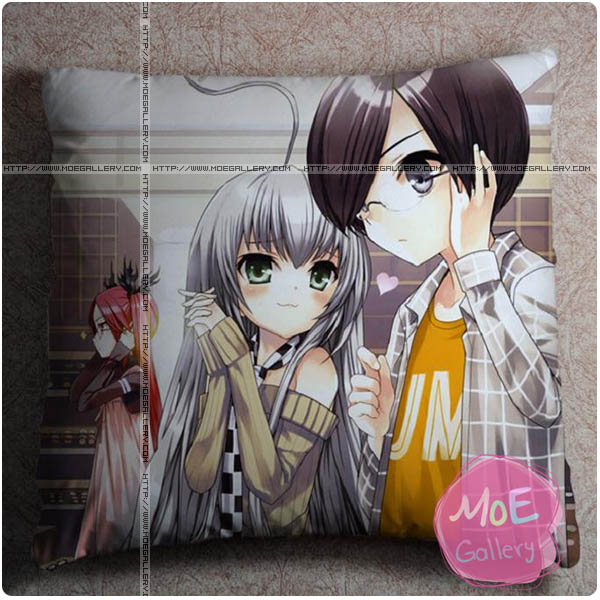 Haiyore Nyaruko San Mahiro Yasaka Throw Pillow Style A