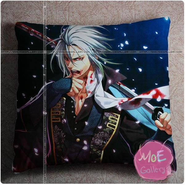 Hakuoki Chikage Kazama Throw Pillow Style B
