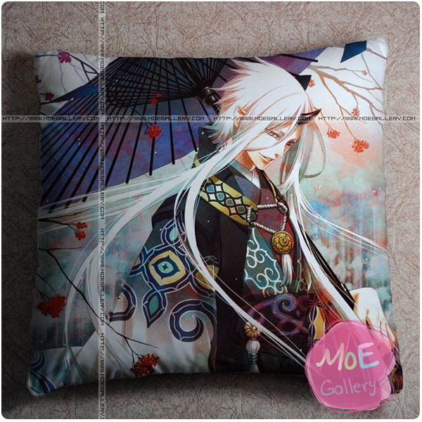 Hakuoki Chikage Kazama Throw Pillow Style D