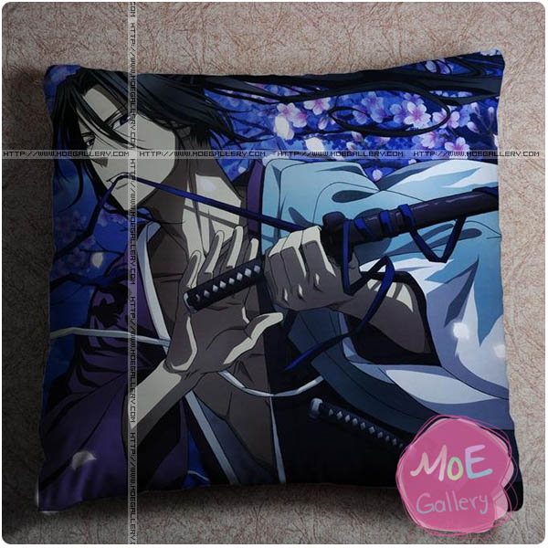 Hakuoki Toshizo Hijikata Throw Pillow Style B