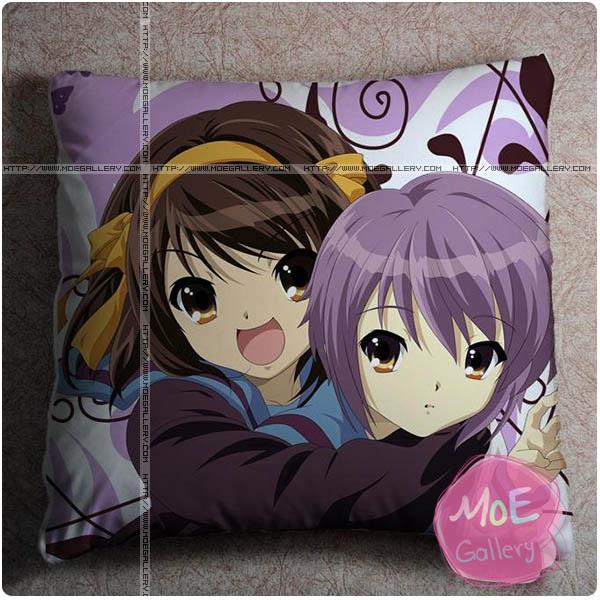 Haruhi Suzumiya Yuki Nagato Throw Pillow Style A