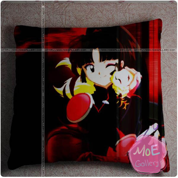 Inuyasha Kagome Higurashi Throw Pillow Style A