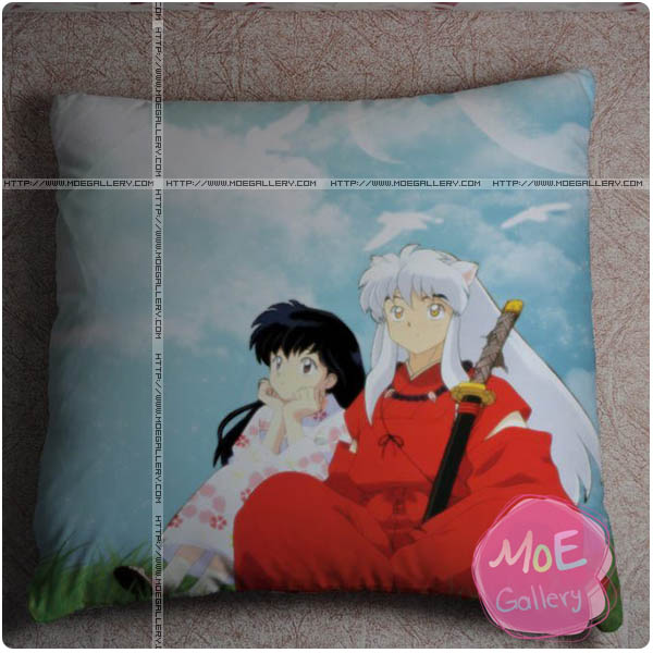 Inuyasha Kagome Higurashi Throw Pillow Style B