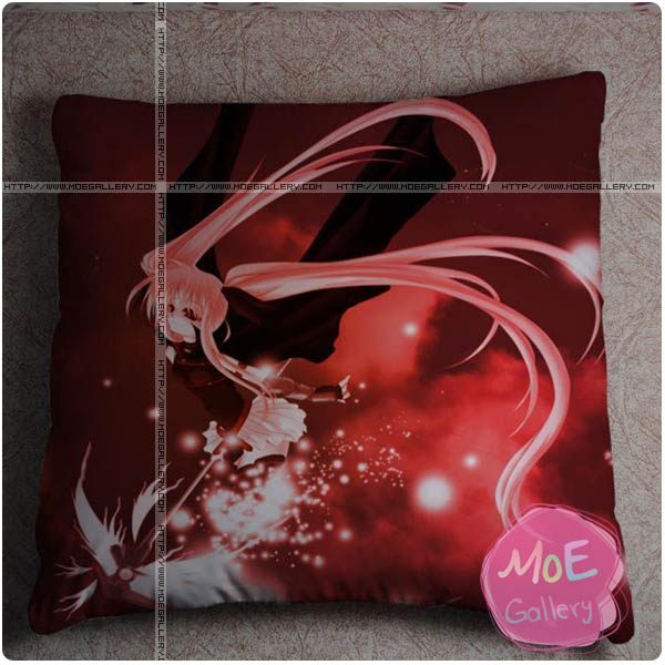 Magical Girl Lyrical Nanoha Fate Testarossa Throw Pillow Style A