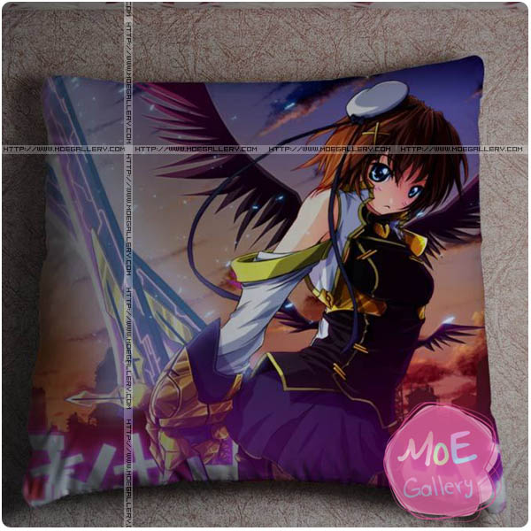 Magical Girl Lyrical Nanoha Hayate Yagami Throw Pillow Style A