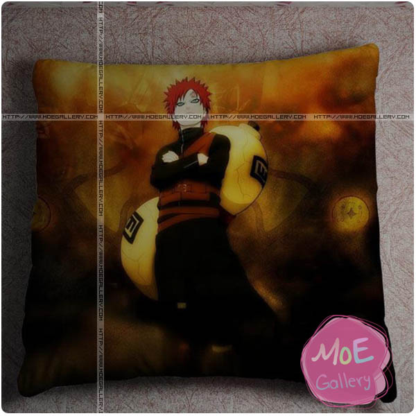 Naruto Gaara Throw Pillow Style I