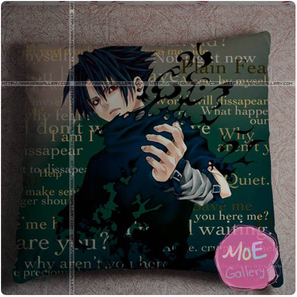 Naruto Sasuke Uchiha Throw Pillow Style F