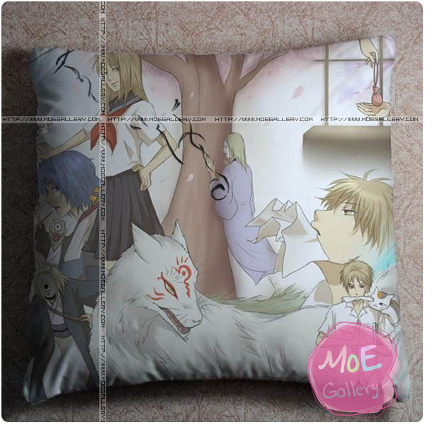 Natsumes Book Of Friends Reiko Natsume Throw Pillow Style A