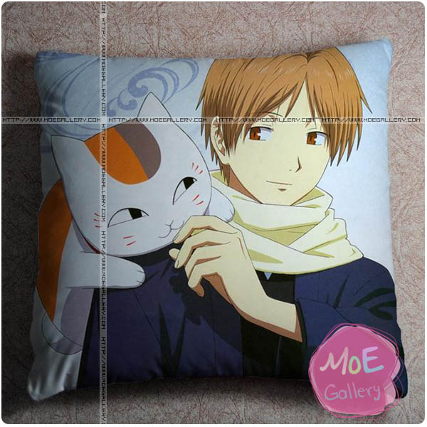 Natsumes Book Of Friends Takashi Natsume Throw Pillow Style A