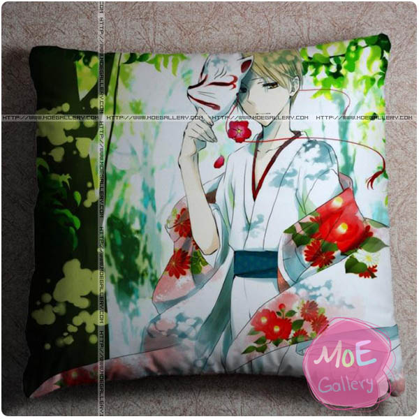 Natsumes Book Of Friends Takashi Natsume Throw Pillow Style C
