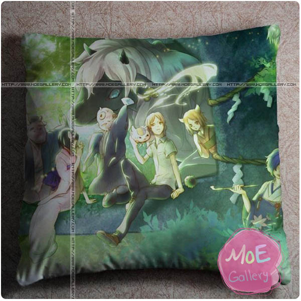 Natsumes Book Of Friends Takashi Natsume Throw Pillow Style D