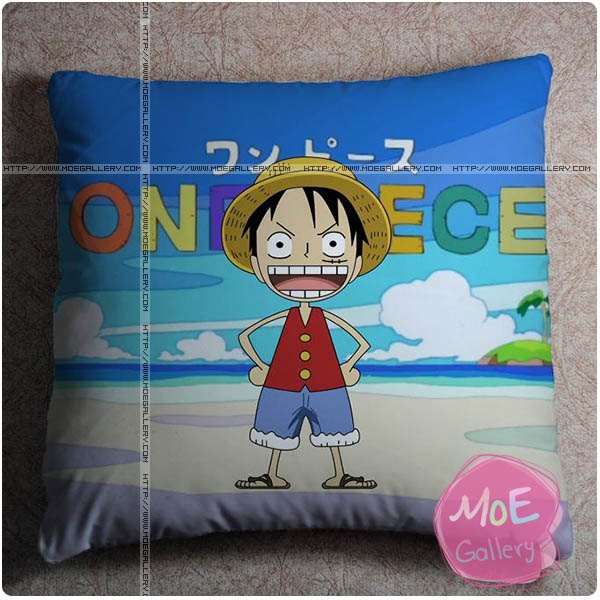 One Piece Monkey D Luffy Throw Pillow Style B