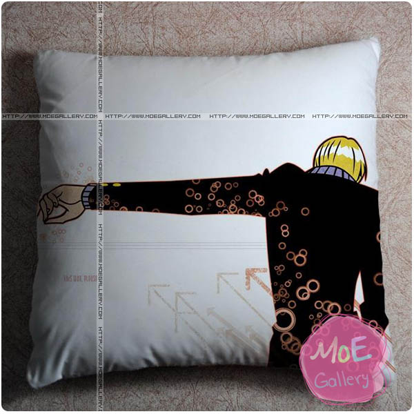 One Piece Sanji Throw Pillow Style A
