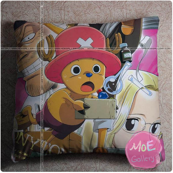 One Piece Tony Tony Chopper Throw Pillow Style A