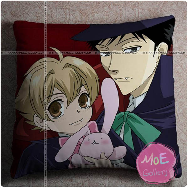 Ouran High School Host Club Takashi Morinozuka Throw Pillow Style A