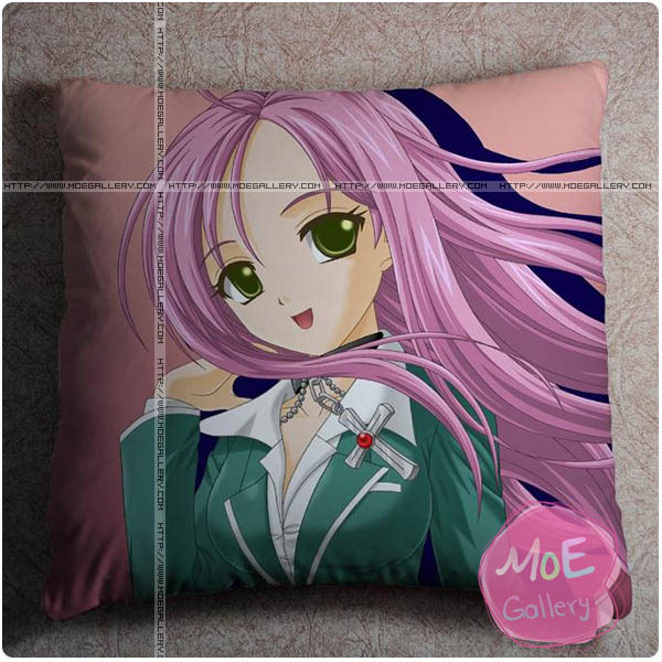 Rosario and Vampire Moka Akashiya Throw Pillow Style B