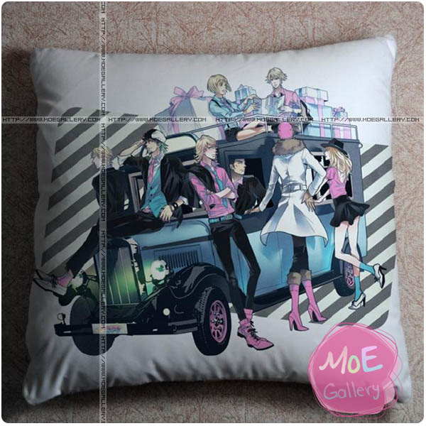 Tiger and Bunny Barnaby Brooks Jr Throw Pillow Style A