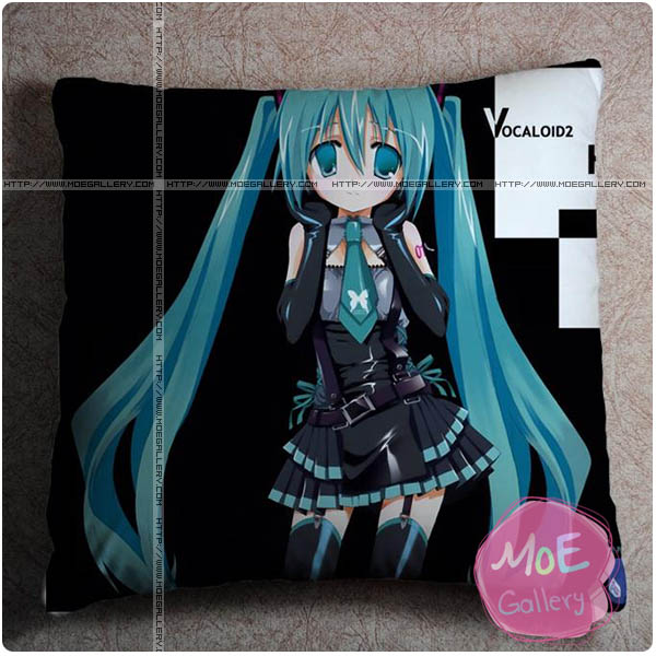 Vocaloid Hatsune Miku Throw Pillow Style H