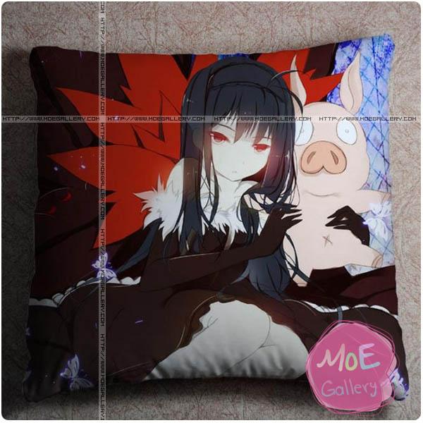 Accel World Black Lotus Throw Pillow Style B