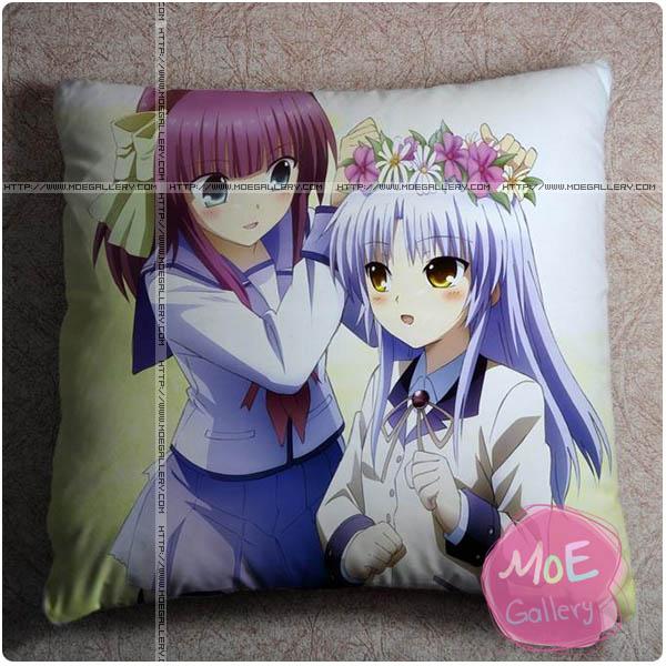 Angel Beats Yuri Nakamura Throw Pillow Style C