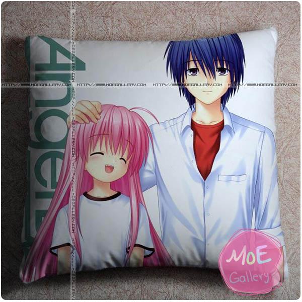 Angel Beats Yuzuru Otonashi Throw Pillow Style A