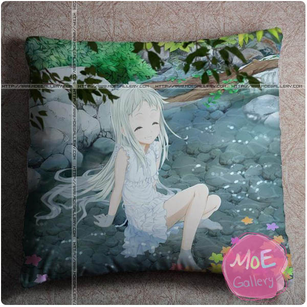 Anohana The Flower We Saw That Day Meiko Honma Throw Pillow Style D