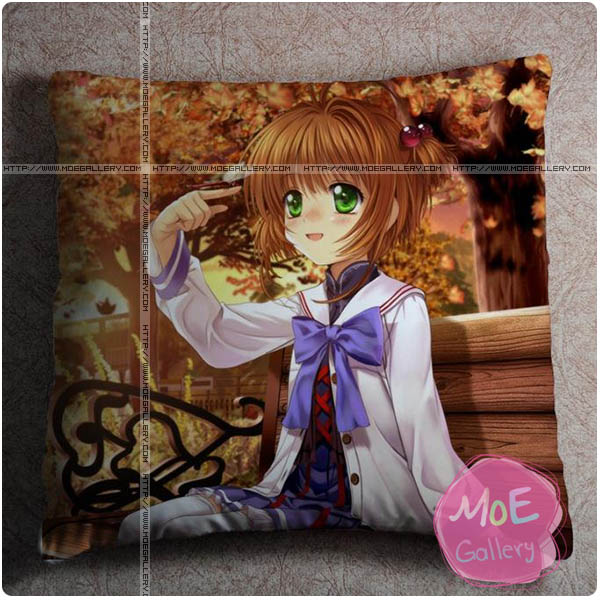 Cardcaptor Sakura Sakura Kinomoto Throw Pillow Style A