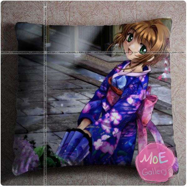 Cardcaptor Sakura Sakura Kinomoto Throw Pillow Style B