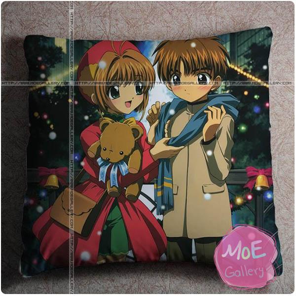 Cardcaptor Sakura Sakura Kinomoto Throw Pillow Style C