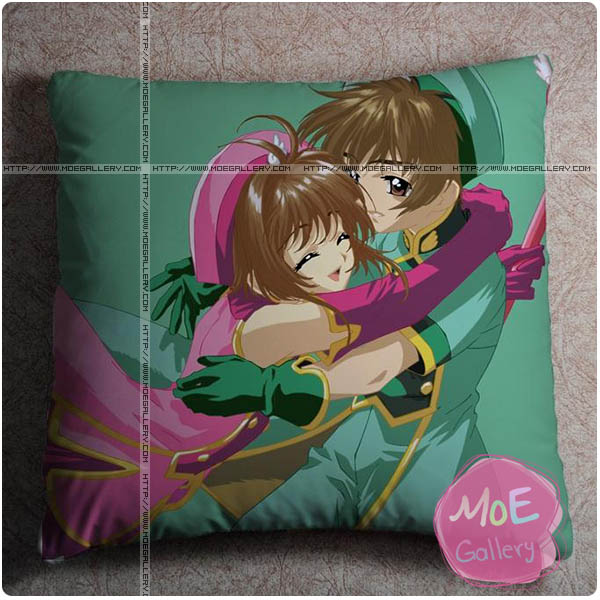 Cardcaptor Sakura Sakura Kinomoto Throw Pillow Style E
