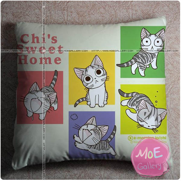 Chis Sweet Home Chi Throw Pillow Style A