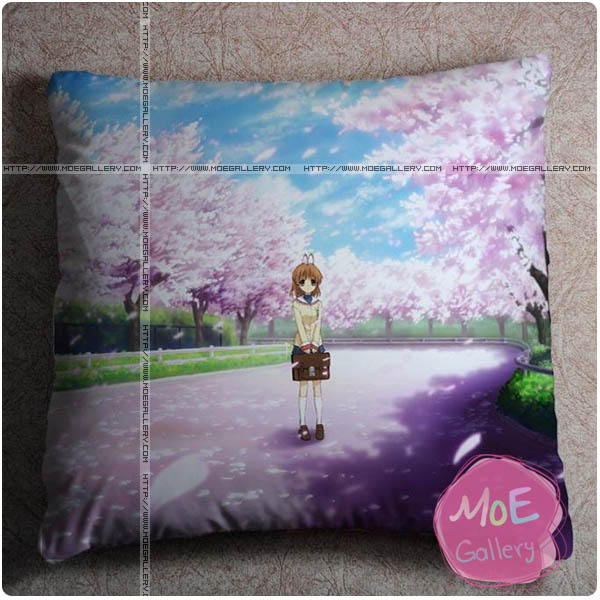 Clannad Nagisa Furukawa Throw Pillow Style D