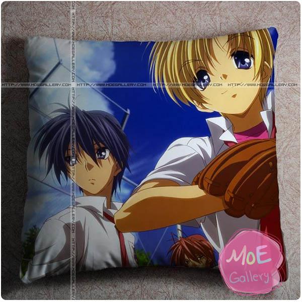 Clannad Tomoya Okazaki Throw Pillow Style A