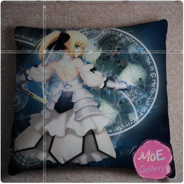 Fate Zero Saber Throw Pillow Style A