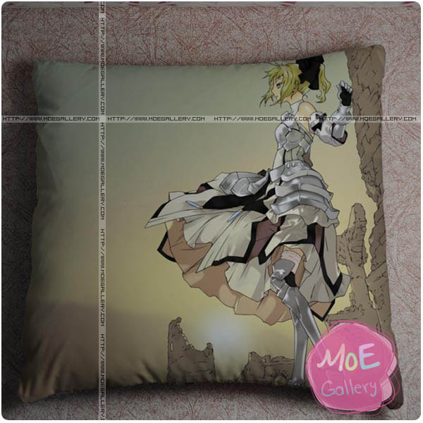 Fate Zero Saber Throw Pillow Style C