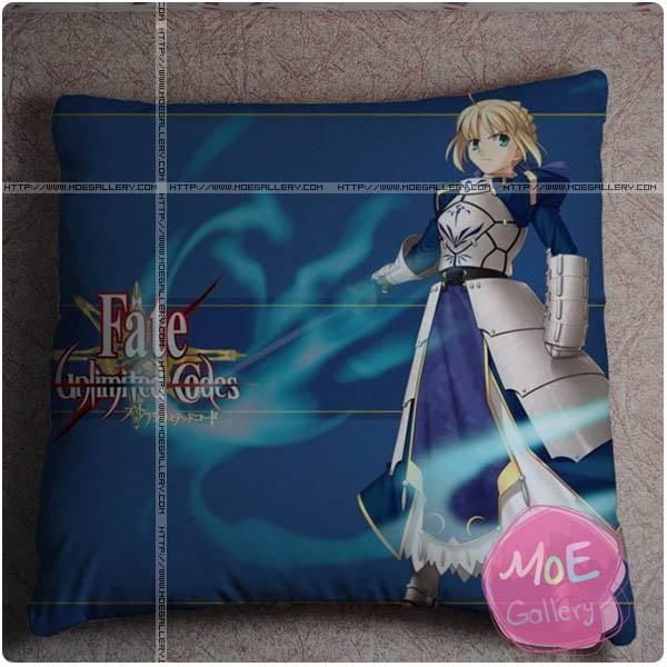 Fate Zero Saber Throw Pillow Style D