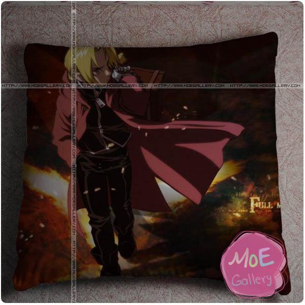 Fullmetal Alchemist Edward Elric Throw Pillow Style H
