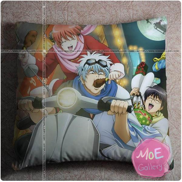 Gintama Gintoki Sakata Throw Pillow Style C