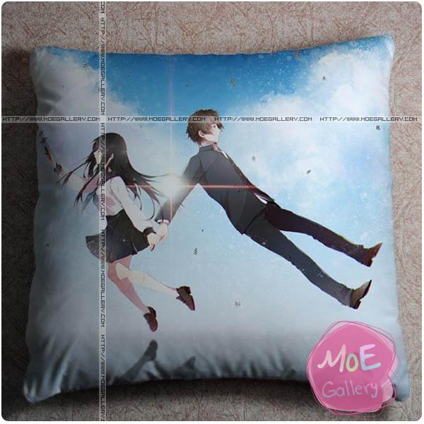 Hyoka Eru Chitanda Throw Pillow Style D