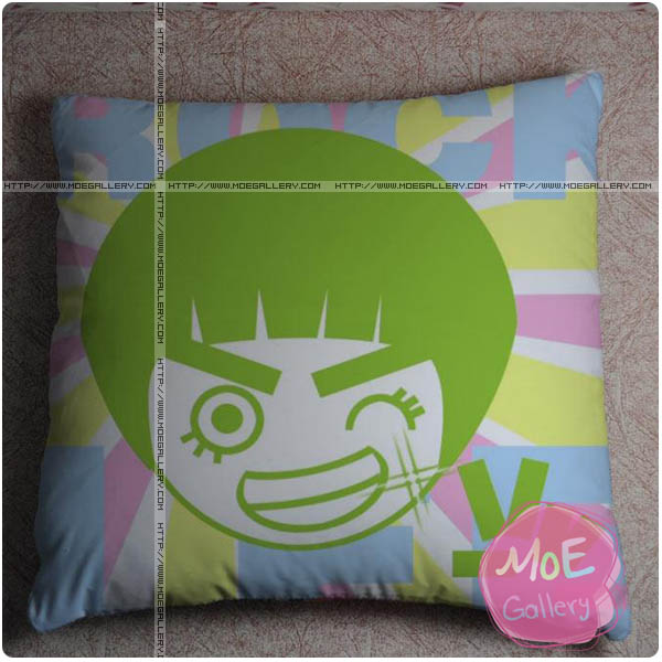 Naruto Rock Lee Throw Pillow Style A