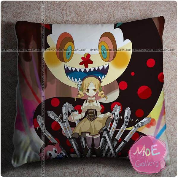 Puella Magi Madoka Magica Mami Tomoe Throw Pillow Style A