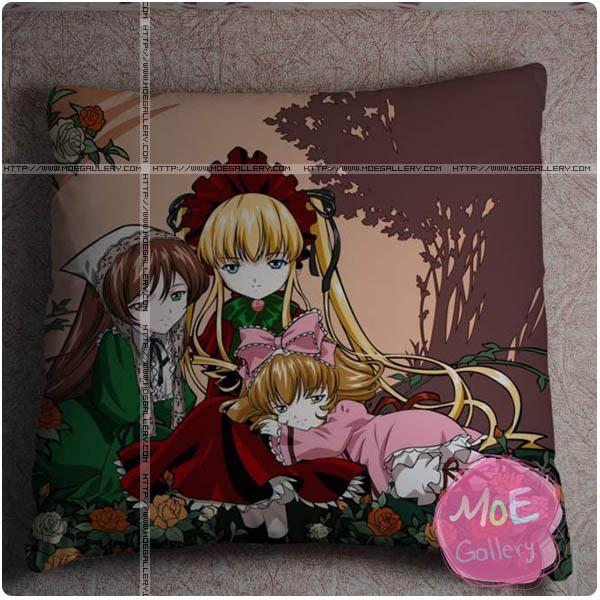 Rozen Maiden Shinku Throw Pillow Style B