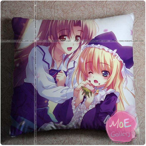 Yoake Mae Yori Ruriiro Na Estel Freesia Throw Pillow Style B