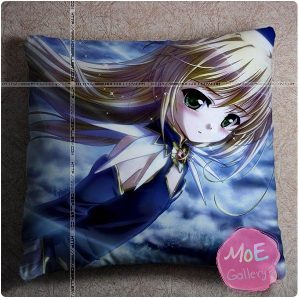 Yoake Mae Yori Ruriiro Na Wreathlit Noel Throw Pillow Style A