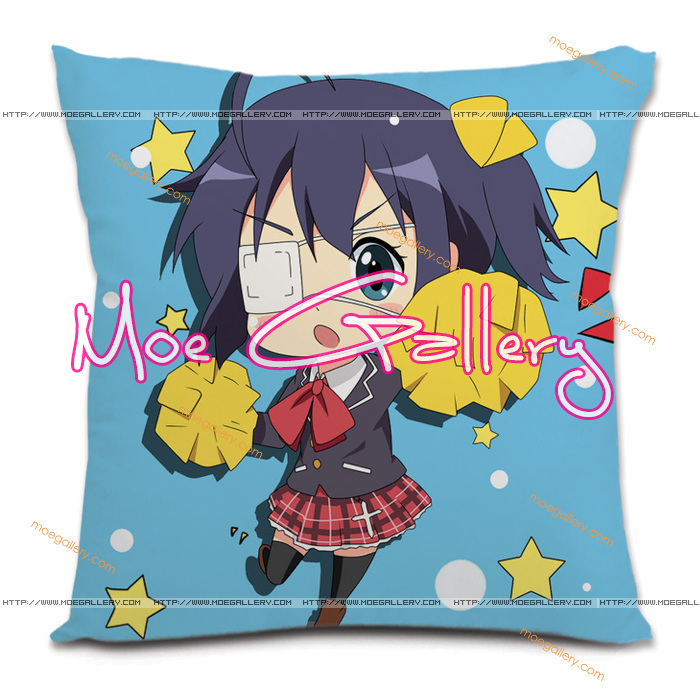 Chu-2 Rikka Takanashi Throw Pillow 02