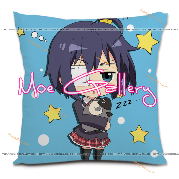 Chu-2 Rikka Takanashi Throw Pillow 09