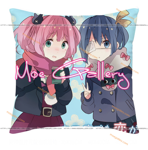 Chu-2 Rikka Takanashi Throw Pillow 29