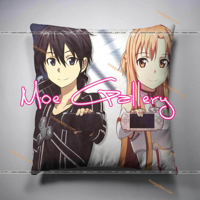Sword Art Online Asuna Kirito Throw Pillow 04